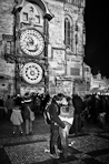 Yuri Evangelista - Street photography - Old Town Square Kiss