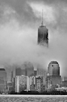 Yuri Evangelista - Urban photography - Foggy Tower